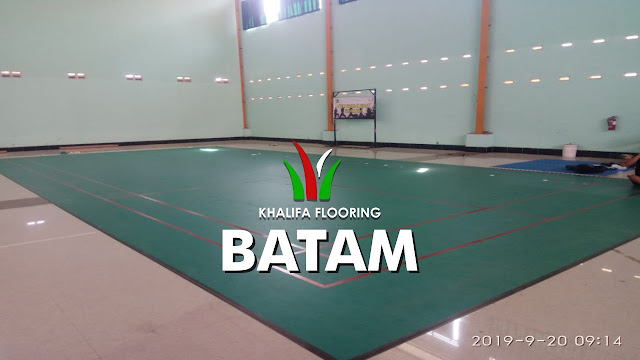 Karpet Lapangan Badminton Batam