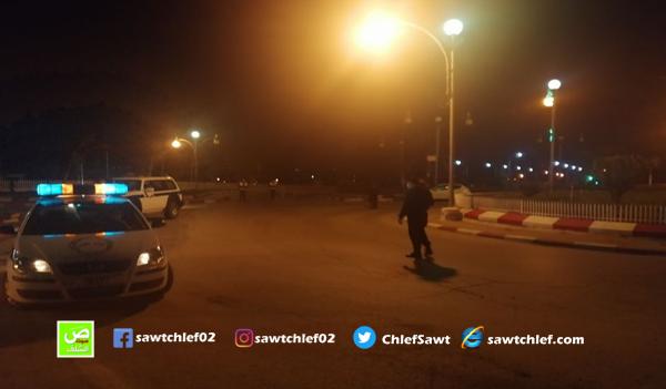 شرطة الشلف تحرص على تطبيق تدابير الحجر الصحي
