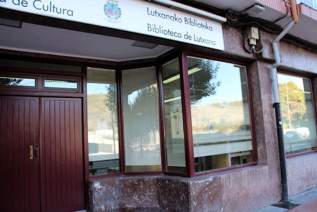 biblioteca de Lutxana (Barakaldo)
