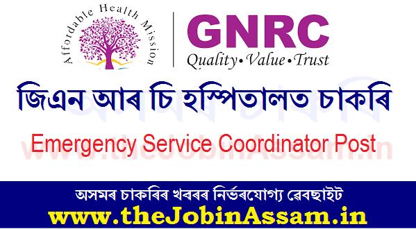 GNRC Recruitment 2020