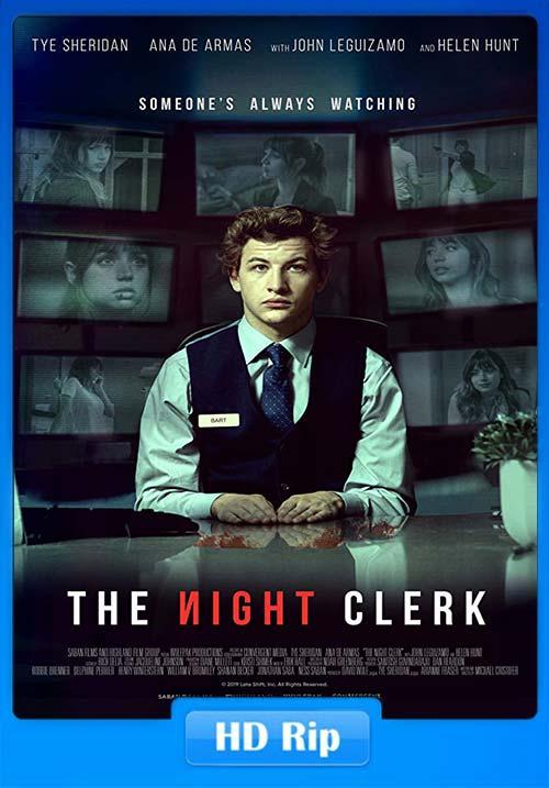 The Night Clerk 2020 720p WEBRip x264 | 480p 300MB | 100MB HEVC