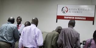 KRA offices serving taxpayers