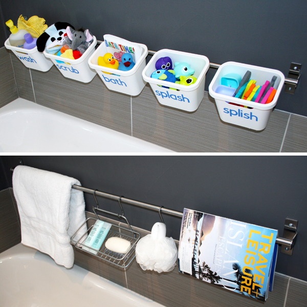 bathroom toy storage ideas my home style tips for mixing modern decor amp with 16141
