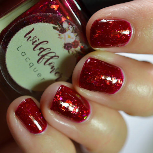 Wildflower Lacquer Drink Like A Fish swatch