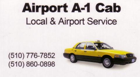 Taxi service El Sobrante Yellow cab call local El Cerrito