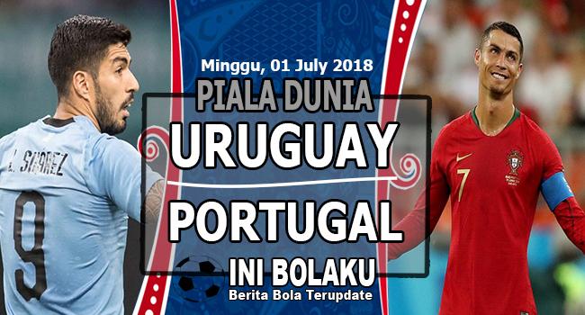 Prediksi Uruguay vs Portugal, 01 July 2018