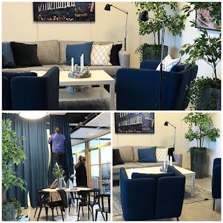Lite lounger för företag som gjorts sista veckorna