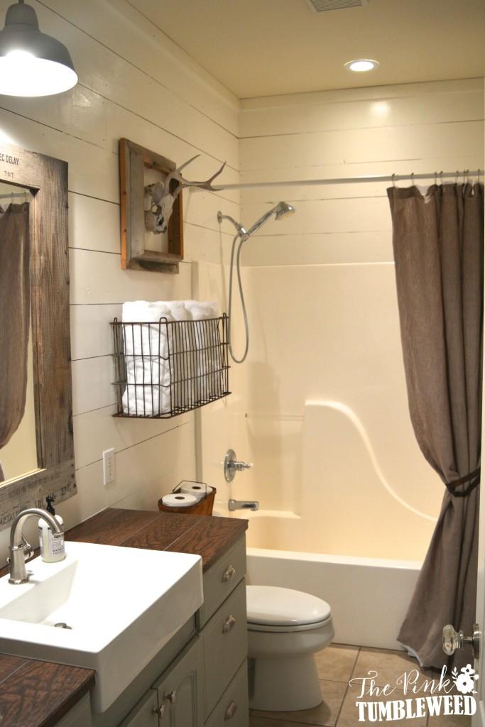 Small Rustic Bathroom Design : Best small space organization hacks gorgeous rustic