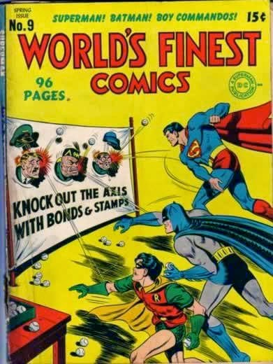 Comic War Bonds