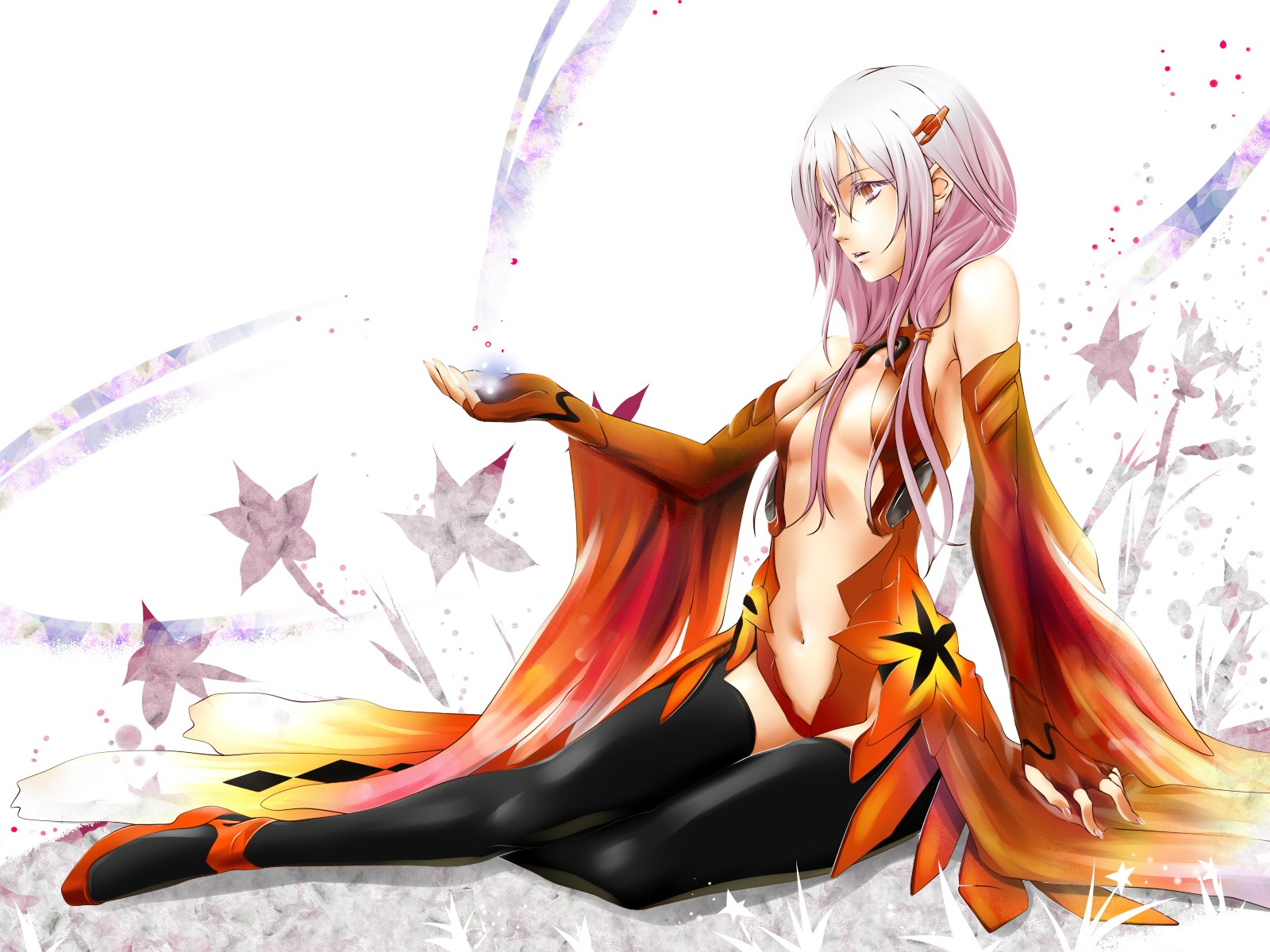Guilty Crown Wallpaper Inori: Forbidden Forest: Guilty Crown Anime Wallpaper