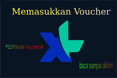 Cara Memasukkan Kode Voucher XL