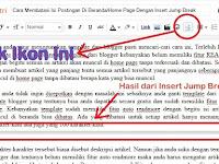 Cara Membatasi Isi Postingan Di Beranda/Home Page Dengan Insert Jump Break