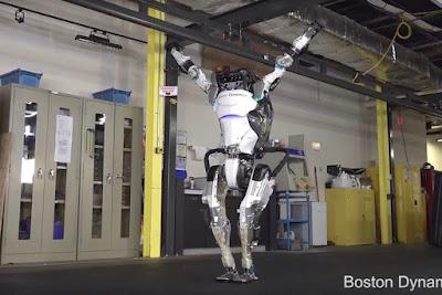 فيديو مذهل لروبوت بوسطن ديناميكس Atlas