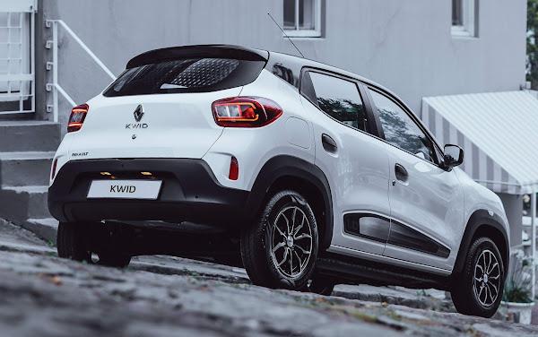 Novo Renault Kwid 2022 terá facelift e motor 1.0 do Sandero