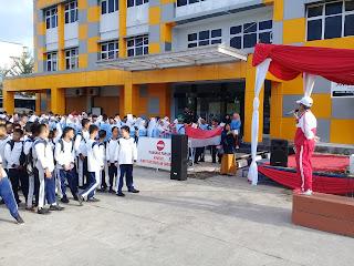 Semarak HUT RI 73 SMA Pembangunan Lab. UNP