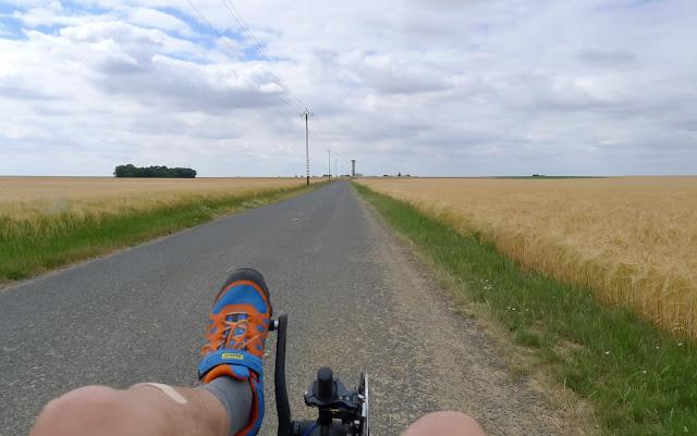 De Paris à Angers par la Loire à vélo, la Beauce