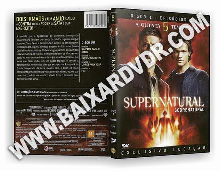 Supernatural – 5ª Temporada Completa (2006) DVD-R OFICIAL