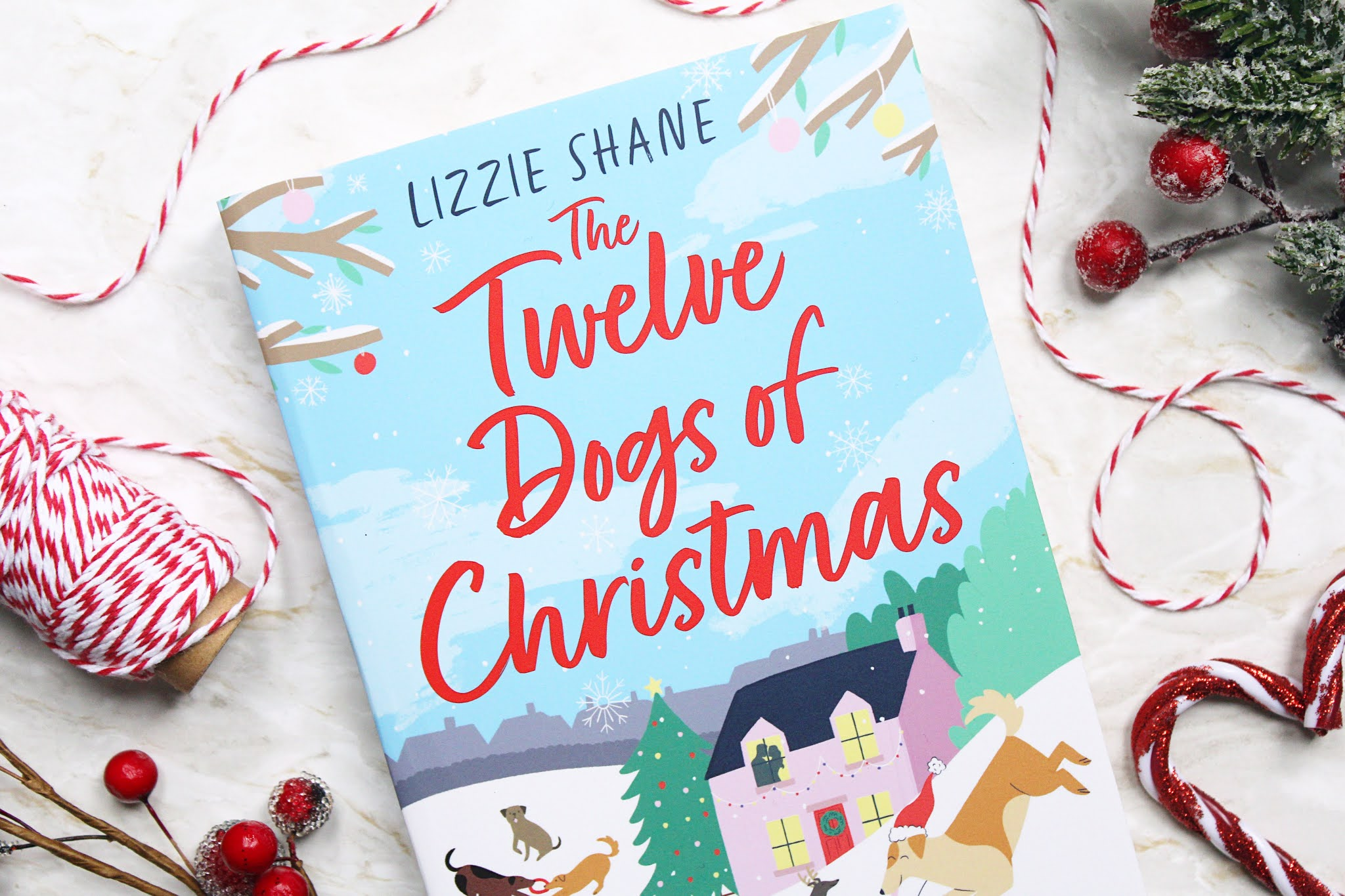 The Twelve Dogs of Christmas - Lizzie Shane | Spoiler Free Book Review