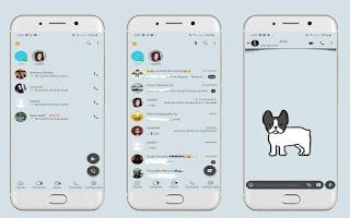 Dog 3 Theme For YOWhatsApp & Fouad WhatsApp By Leidiane