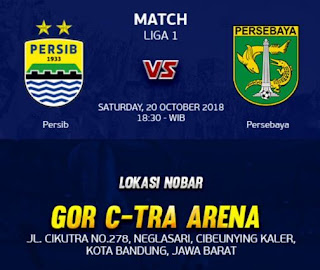Manajemen Persib Gelar Nobar Persib vs Persebaya di GOR C-Tra Arena Bandung