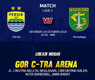 Nobar Persib vs Persebaya di GOR C-Tra Arena Dibatalkan