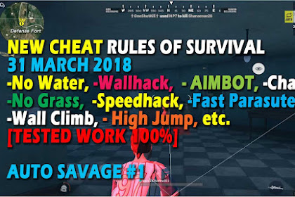 Cheat Rules of Survival Treonin 8.0 Update 31 Maret 2018