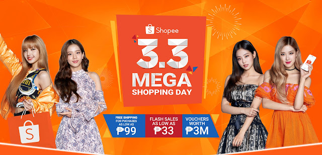 Catch Two Weeks of Mega Deals and Mega Savings at  Shopee 3.3 Mega Shopping Day
