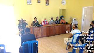 Bantuan BLT DD Tahap II di Serahkan Langsung Plt Desa Penuba