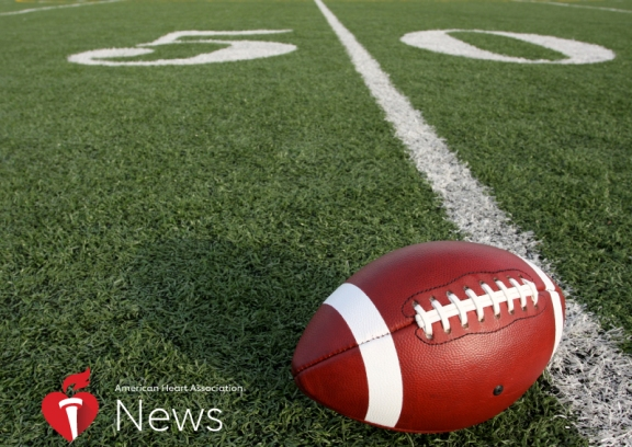 Do NFL Players' Hearts Take a Hit From Football?: AHA News