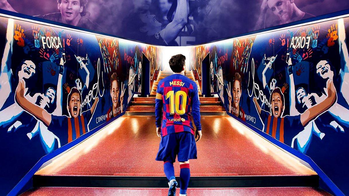 Barca còn lại gì nếu Messi ra đi? Ảnh: Getty.