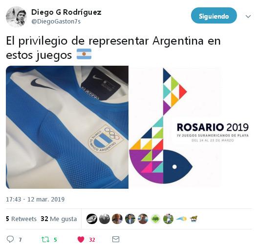 Diego Rodríguez, entrenador argentino #RugbyPlaya #Rosario2019