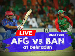 Afghanistan vs Bangladesh 2nd t20 cricket live Score