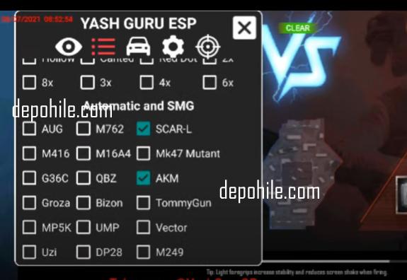 Pubg Mobile Yash Guru Menü Aim, Skin Hilesi Temmuz 2021
