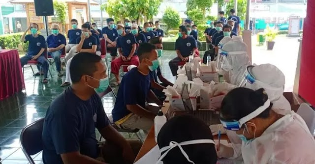 Usai Manjalani Test Swab Dari Kemenkes RI,Ribuan WBP Di Lapas Narkotika Jakarta Dengan Hasil Negatif Covid