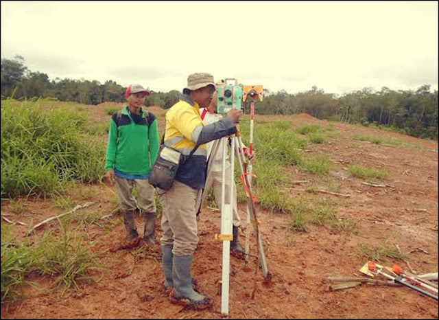 Jasa Survey Topografi / Pemetaan Tanah Pontianak, Kalimantan Barat Profesional