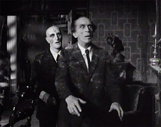 Zombie professors on parade in The Incredible Doktor Markesan, 1962