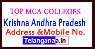 Top MCA Colleges in Krishna Andhra Pradesh