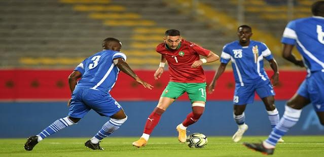 يمكن أن تكون العناصر المعدلة لعام 2021: بعد خسارة موريتانيا أمس في بوروندي ، لم يعد من حق المغرب أن يخطئ غدًا في مواجهة السيارة