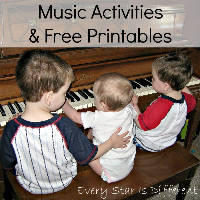 Music Activities & Free Printables