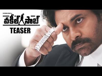 Power Star Pawan Kalyan's Vakeel Saab Teaser is out on Youtube