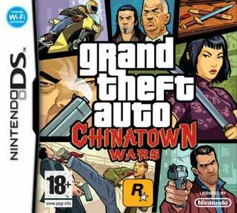 Rom Grand Theft Auto Chinatown Wars NDS