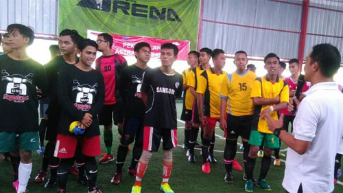 Khambec C70 Champion Ketupat Futsal Community Cup 2018. Photo Courtesy Astra Honda Motor