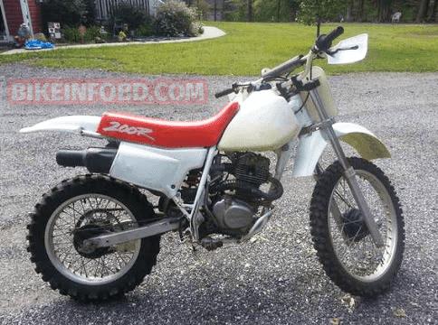 1993 Honda XR80