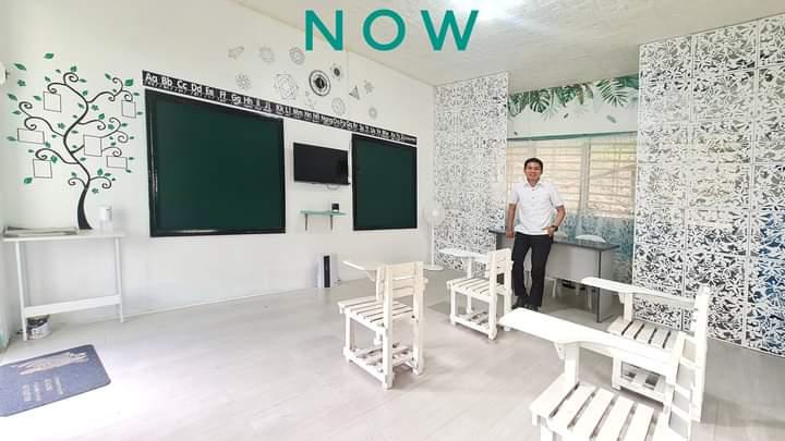 classroom makeover teacher