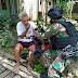KEEROM: Minimnya Tenaga Medis, Satgas Yonif Raider 100/PS Berikan Pelayanan Kesehatan