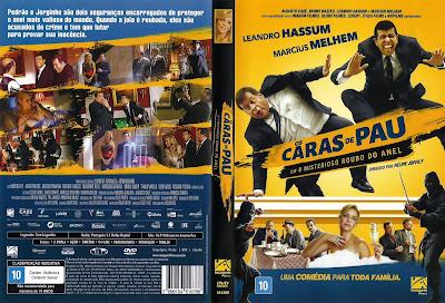 Filme Os Caras de Pau em O Misterioso Roubo do Anel DVD Capa