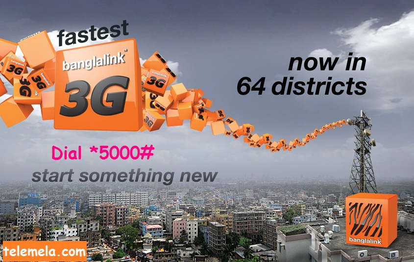 banglalink 3G internet packages