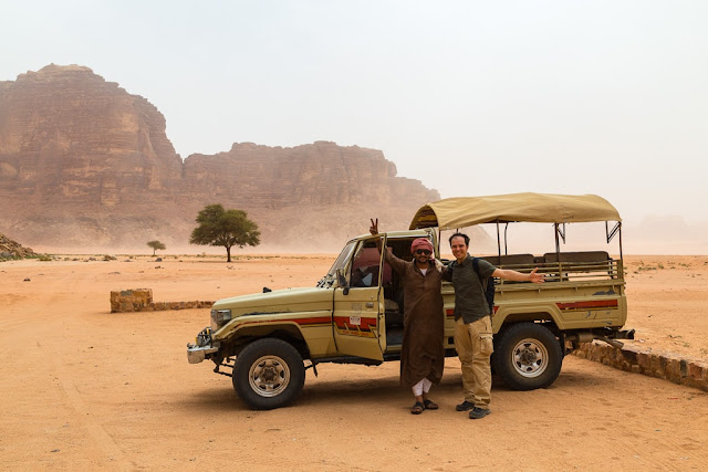 Tour 4x4 por Wadi Rum Starlight Camp Jordania