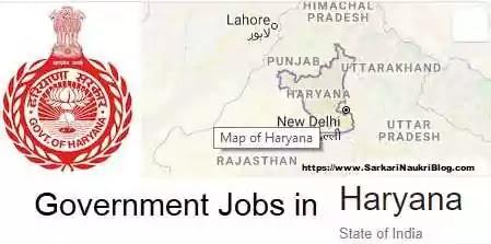 Government Jobs Sarkari-Naukri in Haryana