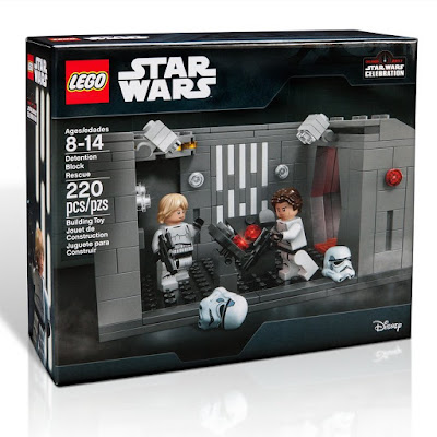 Star Wars Celebration 2017 Exclusive Death Star Detention Block Rescue LEGO Set